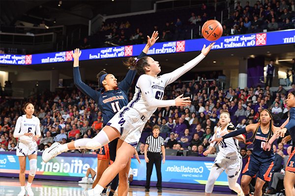 Northwestern Women's Basketball Wins Big Ten Title